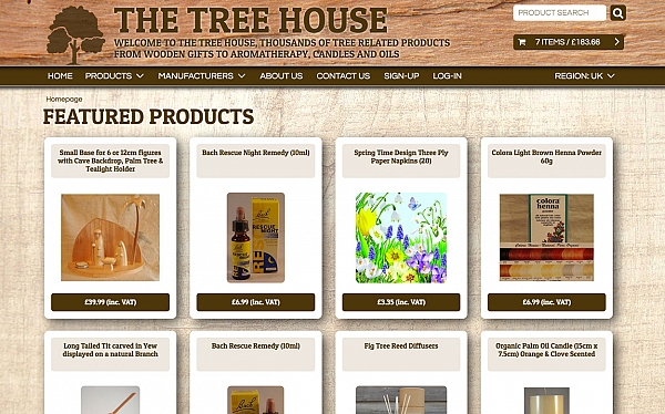 Click to find out more about the The Tree House website
