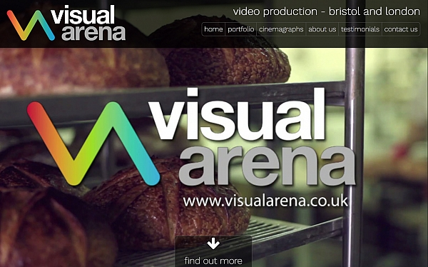 Click to find out more about the Visual Arena website
